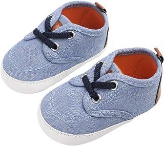 1ac6a392bd DEBAIJIA Bebé Niño Primeros Pasos Zapatos para 6-18 Meses Niños Zapatos de  Lona con