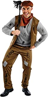fun shack Mens Chimney Sweep Costume Adults Poor Victorian Sweeper Outfit