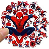 BLOUR 10/35 pièces Mignon Spiderman Autocollants Dessin animé Disney Marvel Les Avengers Autocollant Planche à roulettes Guitare Ordinateur Portable Bagages vélo stikers Jouet