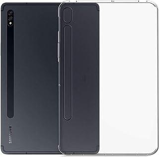 MARGOUN for Samsung Galaxy Tab S7 Case 11 inch 2020 (SM-T870/875) Anti-Slip Slim Transparent Soft Rubber TPU Silicone Ligh...