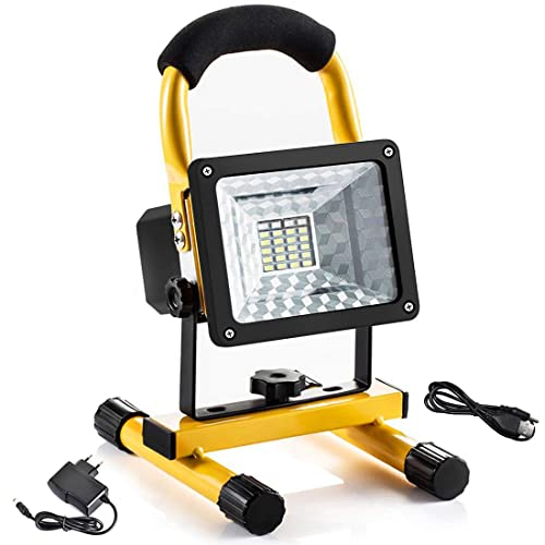 60 LED Rechargeable Cordless Work Light Garage Inspection Torch Lithium-Ion