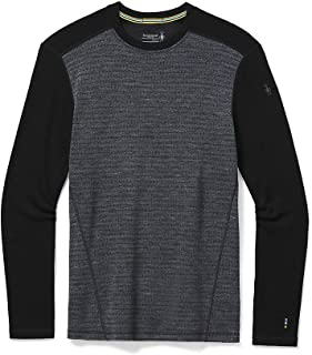 Smartwool Men's Merino 250 Pattern Crew Base Layer – 100% Merino Wool
