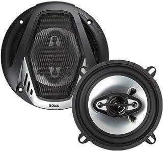 $30 » BOSS Audio Systems NX524 300 Watt Per Pair, 5.25 Inch, Full Range, 4 Way Car Speakers, Sold in Pairs (Renewed)