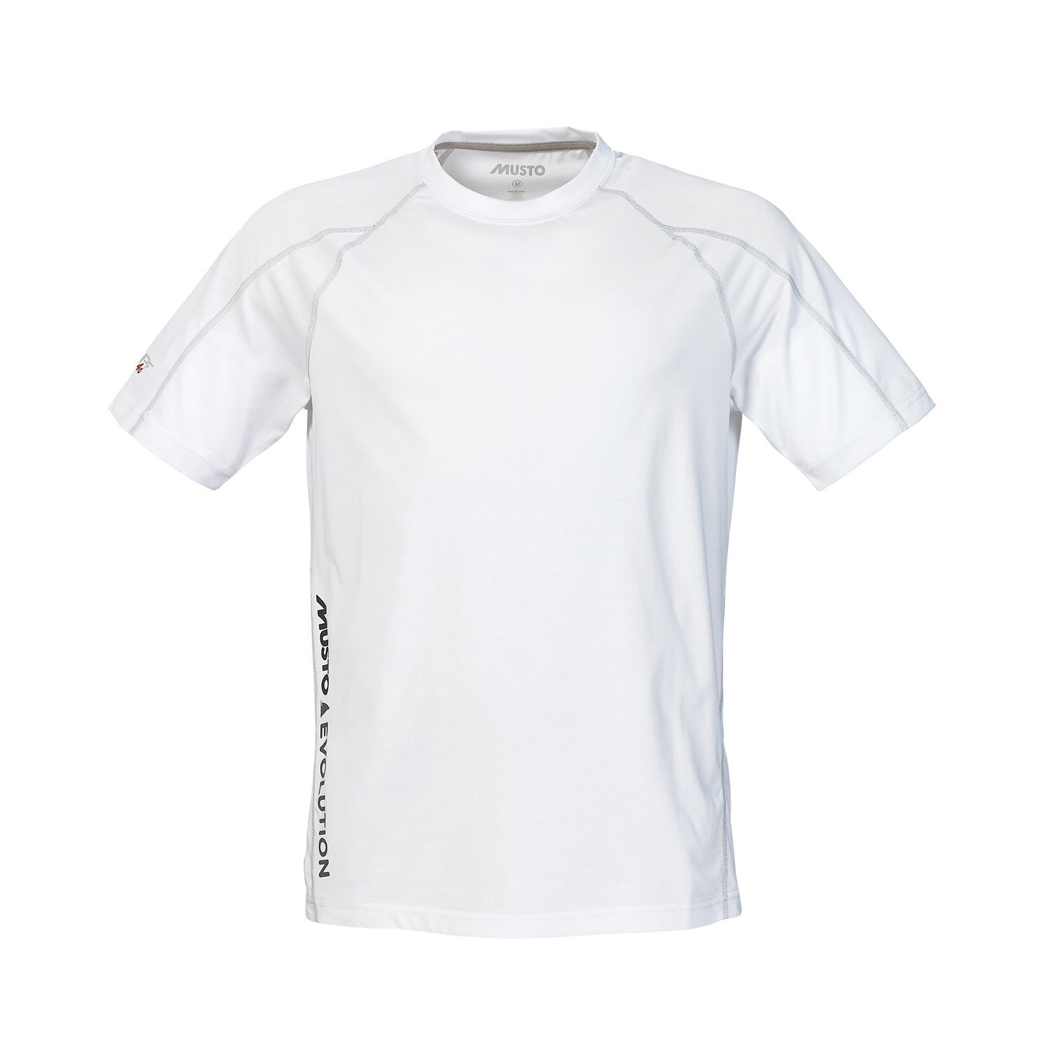 2016 Musto Evolution Logo Short Sleeve Tee in WHITE SE1361 Size - - Small: Amazon.es: Deportes y aire libre