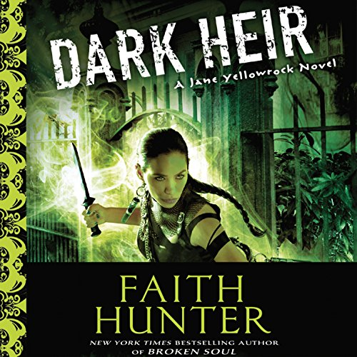 Dark Heir audiobook cover art