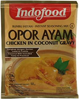 Indofood Opor Ayam - Chicken in Coconut Gravy 1.6oz - [Pack of 1]