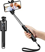 Mpow Selfie Stick, Extendable Compact Monopod Bluetooth Selfie Stick for iPhone 11 Pro Max/11 Pro/11/XS/Xr/X/8/7/6/Plus/5/SE, Samsung Galaxy S8/S7/S6/Edge, Note 5/4, LG G5, Moto and more Smartphone