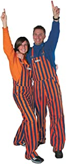 Navy Blue and Orange Adult Game Bibs