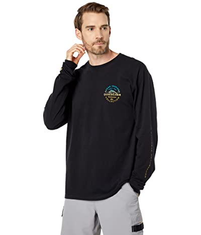 Quiksilver Waterman Fine Line Long Sleeve QMU1 T-Shirt