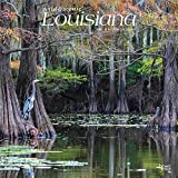 Louisiana Wild & Scenic 2022 12 x 12 Inch Monthly Square Wall Calendar, USA United States of America Southeast State Nature