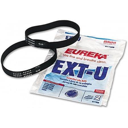 Eureka #E0205 Powerspeed Lightweight /& Pro Swivel Plus Vacuum Belts 2 Pack