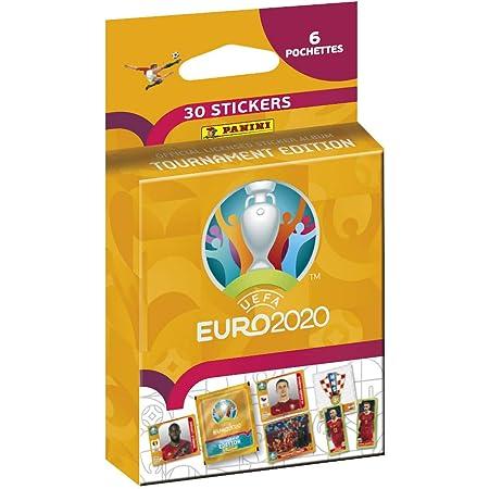 Panini France SA UEFA Euro 2020 Stickers 2021 Tournament Edition Blister 6 Pochettes