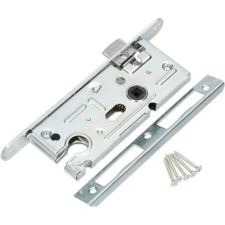 GAH-Alberts 215224 Einsteckschloss speziell f/ür Rahmentore Dornma/ß 55 mm verzinkt ohne Schlie/ßblech