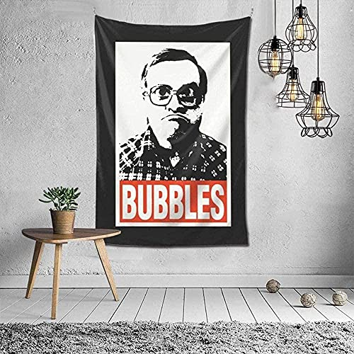 NC198 Tapiz de Burbujas para Colgar en la Pared, tapices artísticos para la decoración del Dormitorio de la Sala de Estar del hogar, 60 x 40 Pulgadas