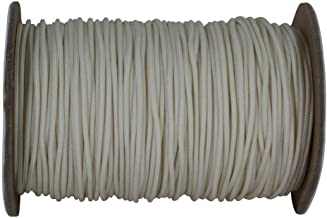 Package of 32.8 Yards 30 Meters Style# 0038S Color: Ecru A2 DecoPro Large Ivory 3//8 Basic Trim Cord with Sewing Lip