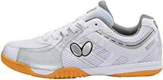 Butterfly Lezoline Sal Table Tennis Shoes - Lezoline Sal - Blue, Grey, Lime, Pink
