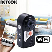 RETECK Q7 WiFi Wireless Recorder Mini DV DVR Camera Smallest Night Vision Video Camcorder with Built-in Microphone