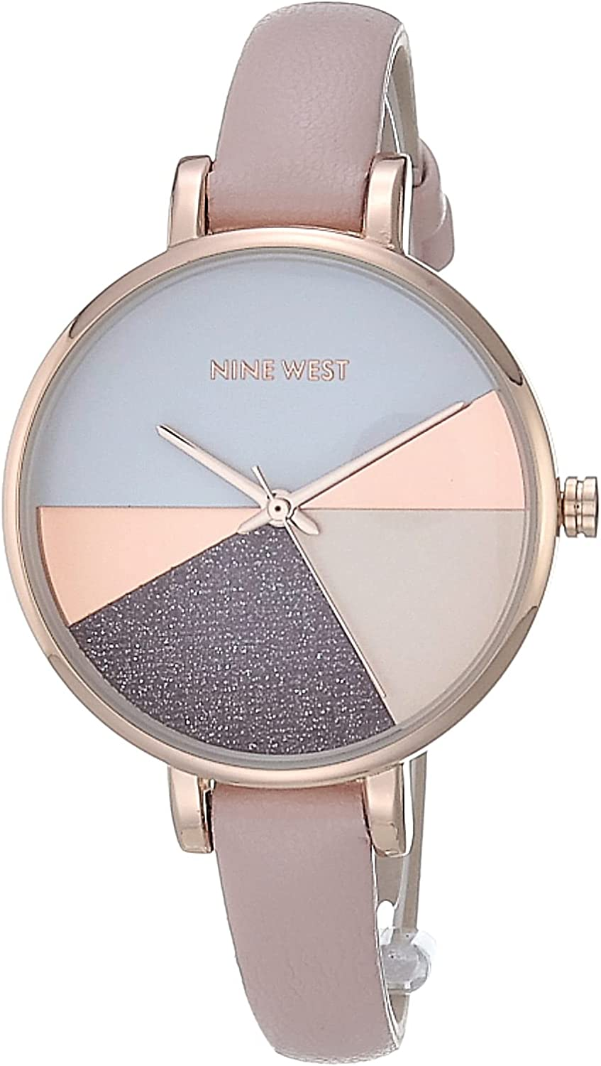Special price Nine West Women's Strap Watch 35% OFF NW 2412