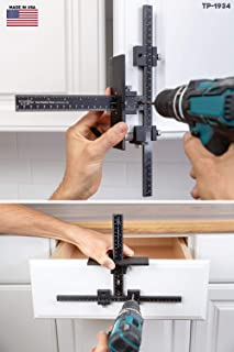 The Original Cabinet Hardware Jig Tool – Drill Template Guide for Door and Drawer..