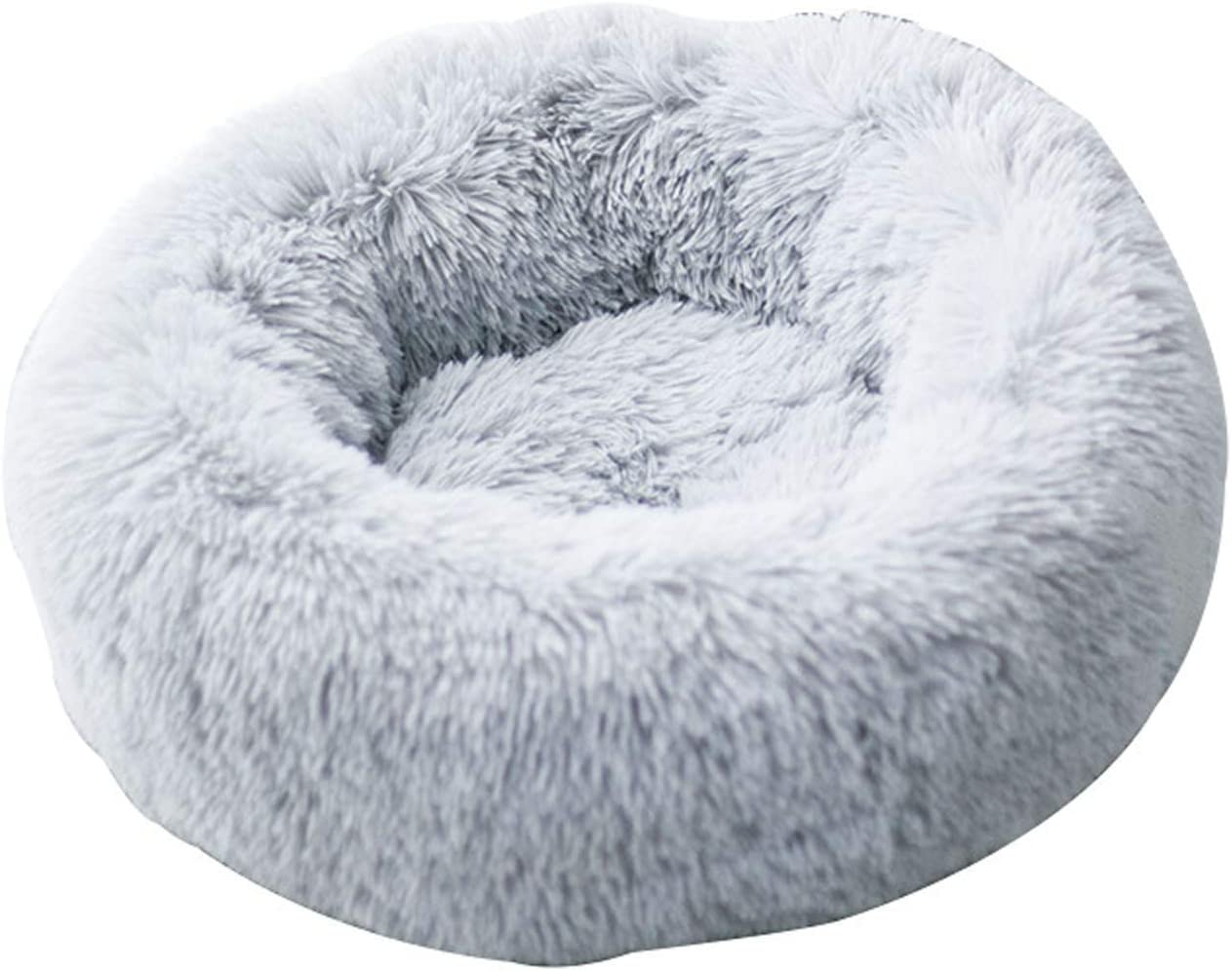 PPQQBB Dog Bed Cat Cushion Faux for Fur Do Max Credence 82% OFF Cuddler Donut