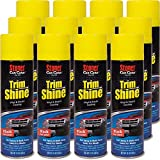 Stoner Car Care 91034-12PK 12-Ounce Trim Shine Protectant Aerosol Restores Dull or Faded Interior and Exterior Plastic Renew Bumpers, Running Boards, and More, Pack of 12