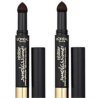 L'Oreal Paris Infallible Smokissime Powder Eyeliner, 701 Black Smoke (Pack of 2)