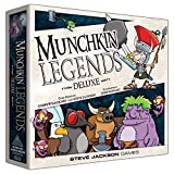 Steve Jackson Games Juego de Cartas Munchkin Legends Deluxe New Edition (Idioma español no asegurado)