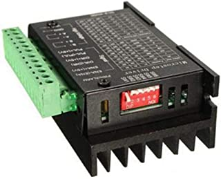DeeploveUU フィットTB6600 CNC単軸4.0A 42VDC 32サブディビジョン42/57/86ステッピングモータドライバコントローラKierowca Motocykluアップグレード版