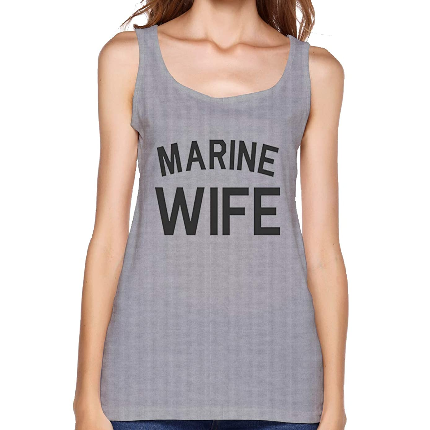 Marine Wife Women's Fashion Camisoles Premium Tank Top for Yoga Daily Wearing