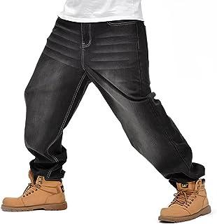 デニムパンツ メンズ ジーンズ カーゴパンツ 極太 バギーパンツ ワイドパンツ ヒップホップ ボトムス ストリート系 大きいサイズ B系 ゆったり