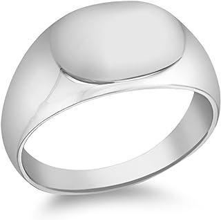 Tuscany Silver 中性款图章戒指–尺码 V 8.48.8529