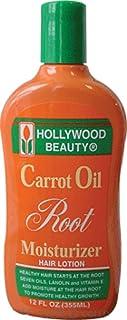 Hollywood Beauty Carrot Oil Root Moisturizer Hair Lotion 12Oz/355Ml