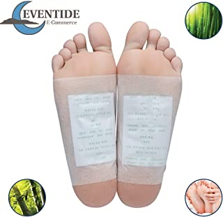 Premium Foot Pads: (50pc) - Rapid Pain Relief & Foot Health, Fresh Scent, New Formula for 2019