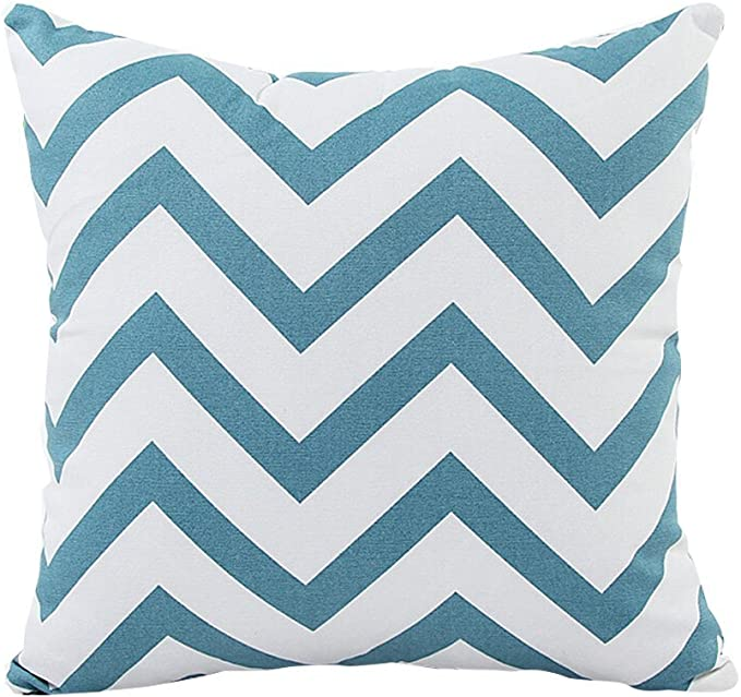 """Details about  /Charcoal Chevron pillow covers In 18""""x18"""""""