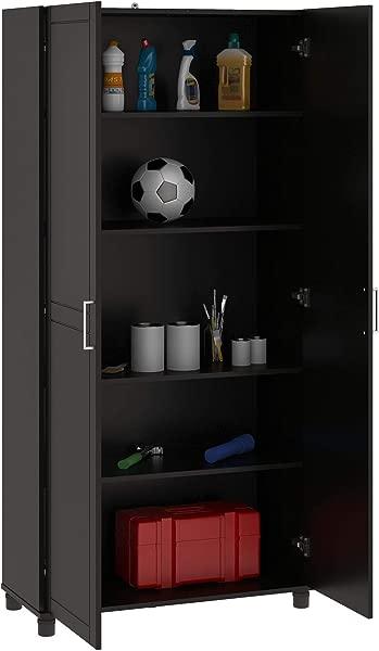 SystemBuild 卡拉汉储物柜 36 黑色
