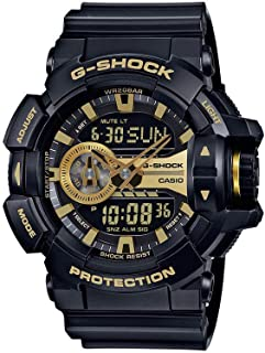 G-Shock GA-400GB Garish Series Watches - Black/Gold / One...