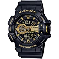 G-Shock GA-400GB Garish Series Watches - Black/Gold / One Size