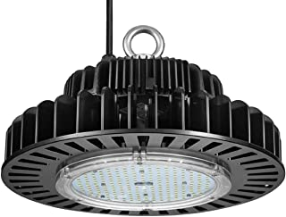 GRANDLUMEN 200W UFO LED High Bay Light, ETL Certified, Replacement for 800W HID/HPS, with Luxeon 3030 LED and Meanwell Driver, 5000K Daylight White, 4ft Cord, LED Warehouse Lighting