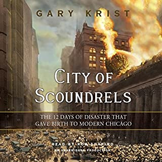 City of Scoundrels audiobook cover art