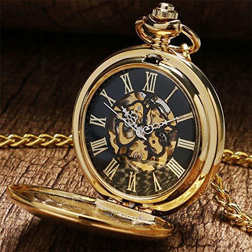 FQD&BNM Pocket Watch Mechanical Pocket Watch Watch Vintage Hand Winding Pocket Pendant Watch Gifts for Men Women