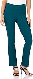 Pantalon Ultra Confort pour Femme, Coupe Droite, F