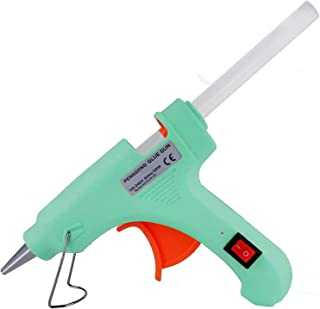 Penggong 20W 20 WATT 7MM hot melt Glue Gun with ON Off Switch and LED Indicator (Free 10 Transparent Glue Sticks)