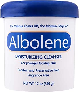 Albolene Moisturizing Cleanser Fragrance Free 12 oz (Pack of 3)