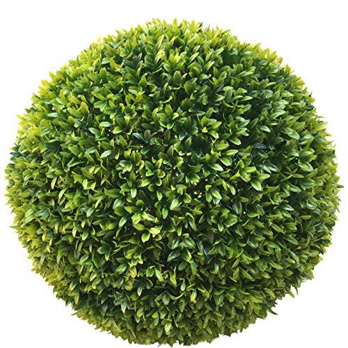 TLC 40 cm Ø künstliche Buchsbaumkugel, EDEL LIGUSTER - sehr natürlich wirkend