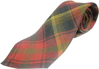 maple leaf tartan tie