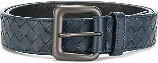 Luxury Fashion | Bottega Veneta Mens 271932V46504013 Blue Belt | Fall Winter 19