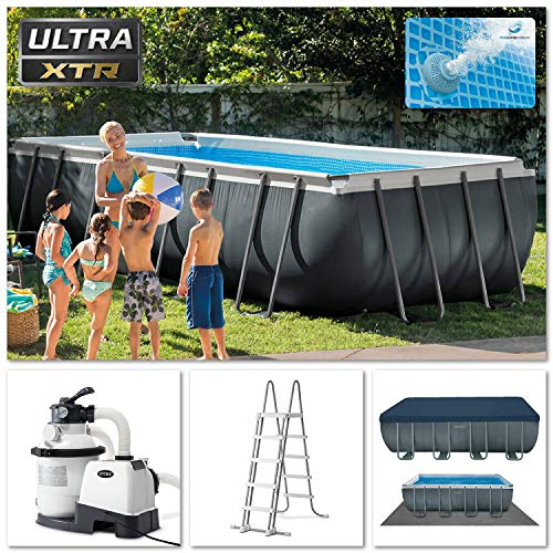 Intex 18Ft X 9Ft X 52In Ultra XTR Rectangular Pool Set