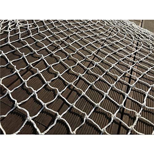 Hwt Tarnnetz Netting Badminton Net Netze Lichter Zubehör for Innendekoration Outdoor-Aktivitäten Weiß 10cm Mesh (Size : 4 * 5M)