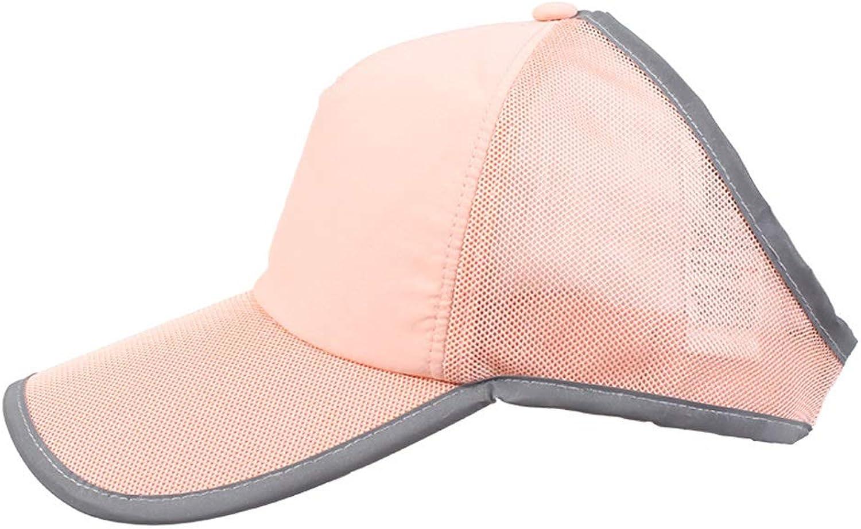 Agelec Running Empty Top Hat Female Summer Baseball Cap Tennis Cap Sunscreen Visor Capless Outdoor Sports Cap Cap (color   A)