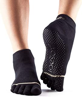 Toesox, Yoga Yoga & Pilates Grip Sock, Unisex